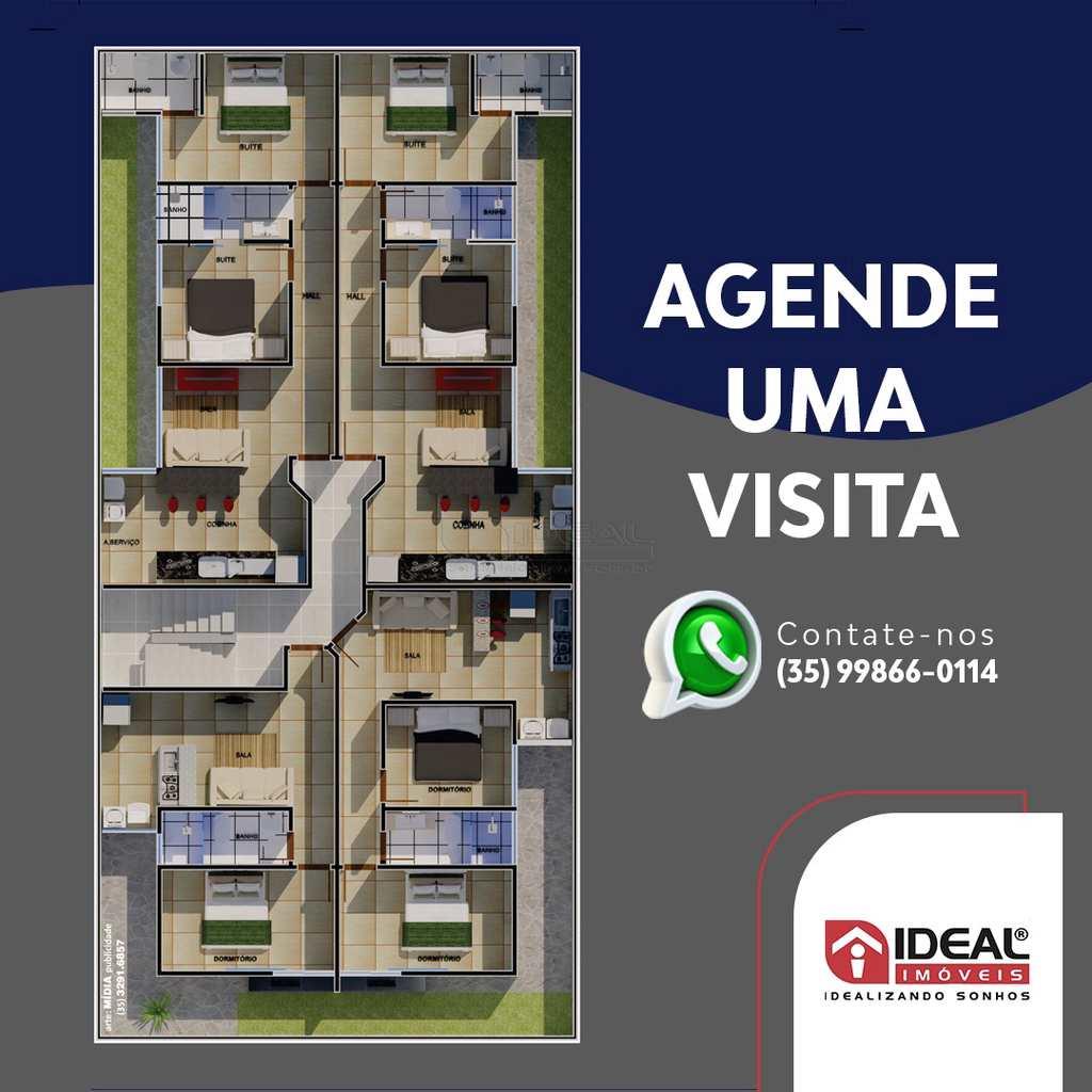 Apartamento em Alfenas, no bairro Jardim Aeroporto