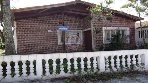 Casa, código 591-AGUAPEU em Mongaguá, bairro Vila Oceanopolis
