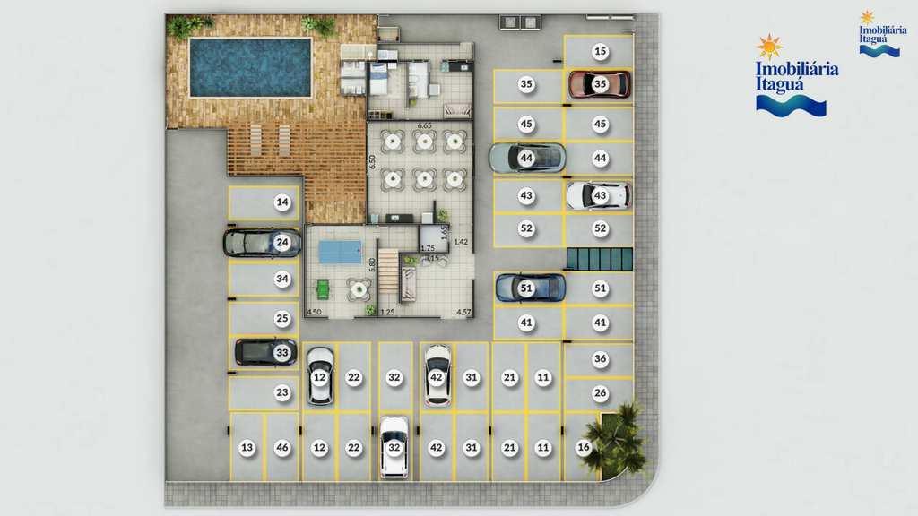 Apartamento em Ubatuba, no bairro Itagua