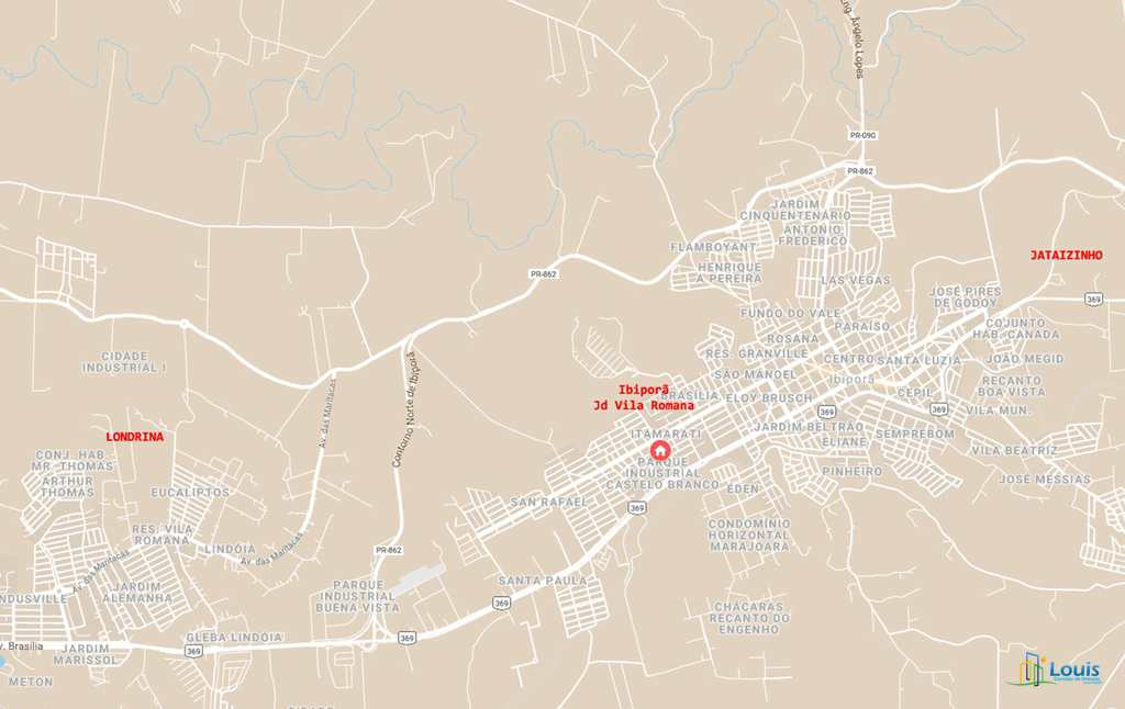 Sobrado em Ibiporã, no bairro Vila Romana