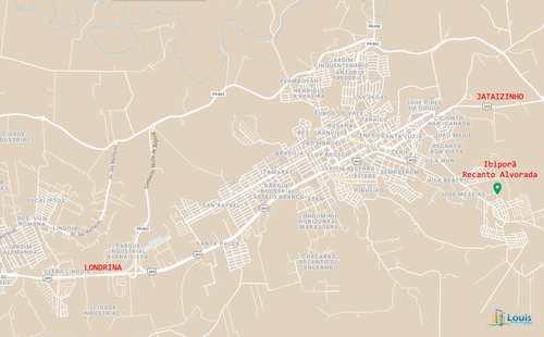 Terreno, código 266 em Ibiporã, bairro Recanto Alvorada