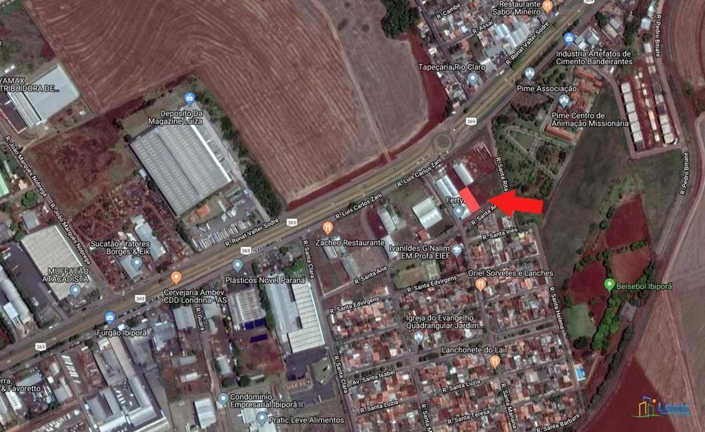 Terreno Comercial em Ibiporã, no bairro Jardim Santa Paula
