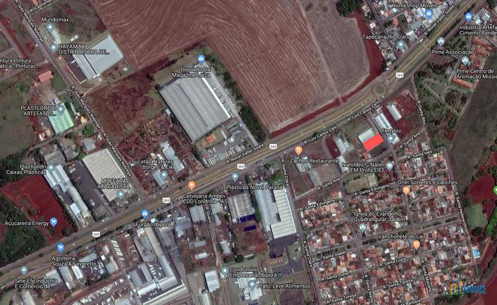 Galpão em Ibiporã, no bairro Jardim Santa Paula