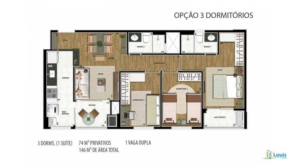 Apartamento em Ibiporã, no bairro Vila Martins