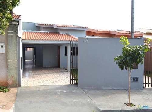 Casa, código 293 em Ibiporã, bairro Vila Romana