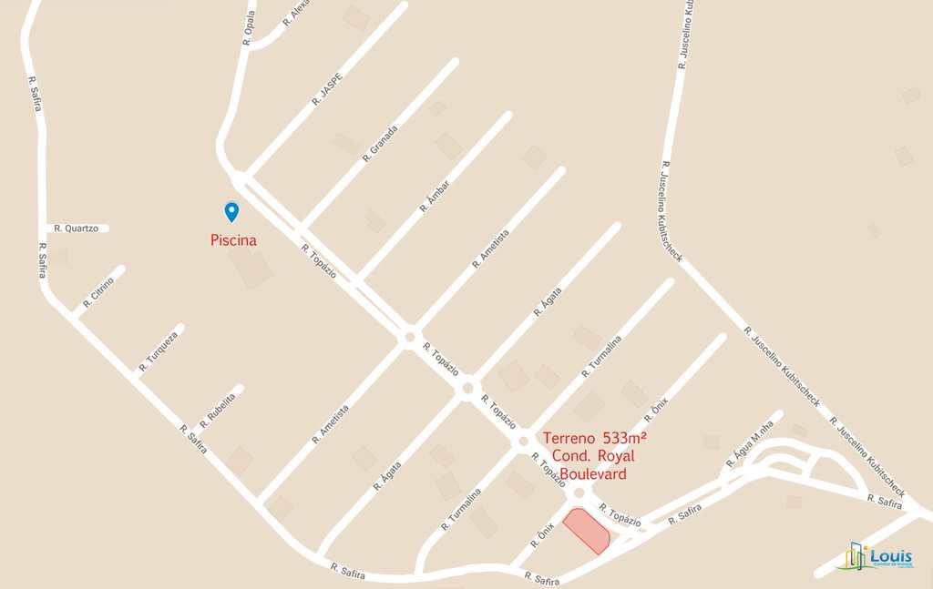 Terreno de Condomínio em Ibiporã, no bairro Royal Boulevard