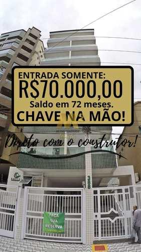 Apartamento, código 2517 em Praia Grande, bairro Canto do Forte