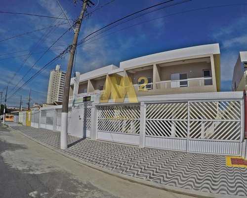 Sobrado de Condomínio, código 3411 em Praia Grande, bairro Maracanã