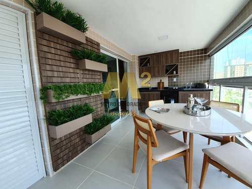 Apartamento, código 4090 em Praia Grande, bairro Caiçara