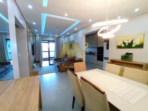 Apartamento, código 5371 em Praia Grande, bairro Guilhermina