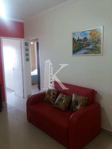Apartamento, código 3545 em Praia Grande, bairro Mirim