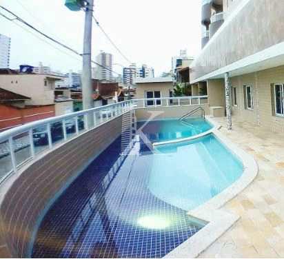 Apartamento, código 4323 em Praia Grande, bairro Ocian