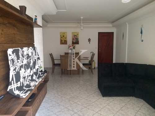 Apartamento, código 4610 em Praia Grande, bairro Aviação