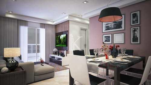 Apartamento, código 5072 em Praia Grande, bairro Guilhermina