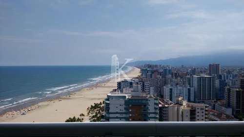 Apartamento, código 5086 em Praia Grande, bairro Guilhermina