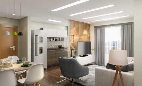 Apartamento, código 5136 em Praia Grande, bairro Guilhermina