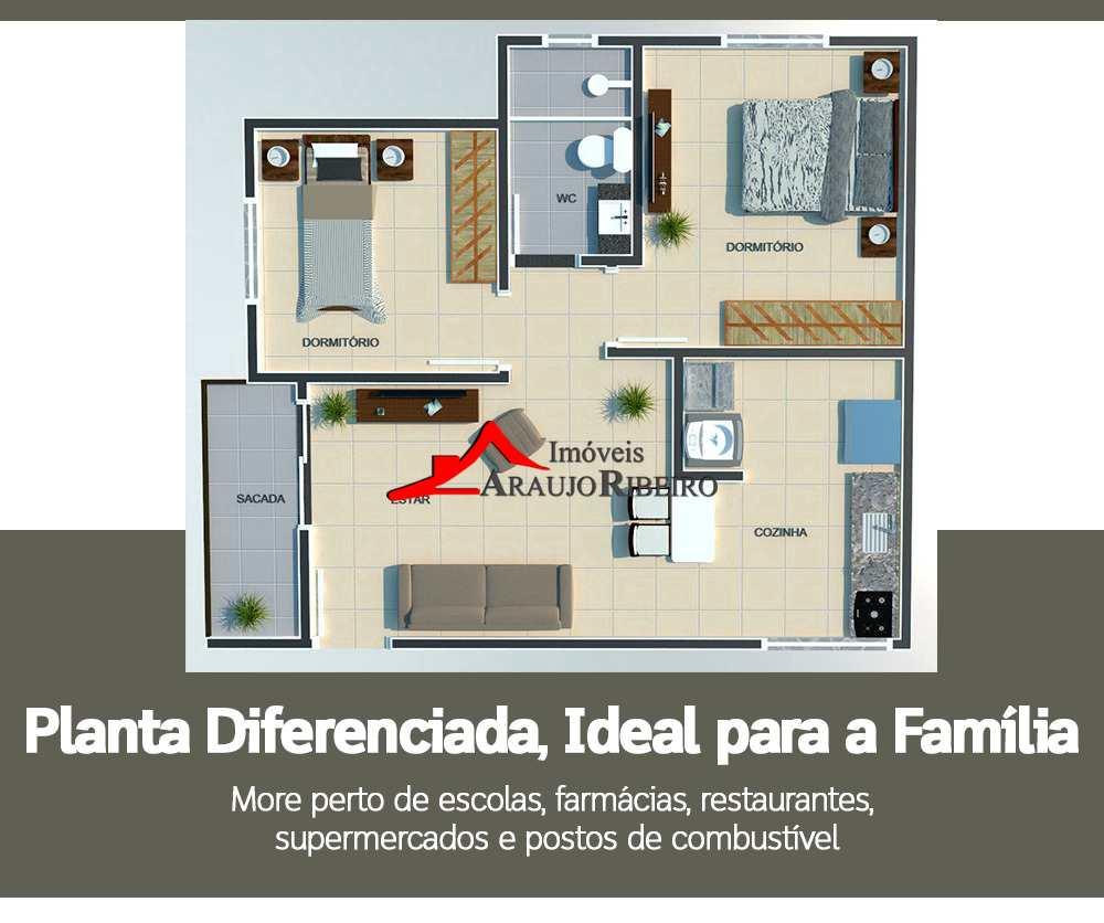 Apartamento em Taubaté, no bairro Jardim Continental II