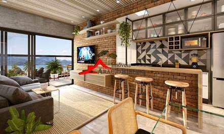 Apartamento, código 60370 em Ubatuba, bairro Itagua