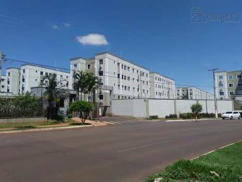 Apartamento, código 121 em Campo Grande, bairro Pioneiros