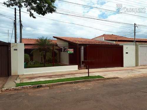 Casa, código 187 em Campo Grande, bairro Jardim São Lourenço