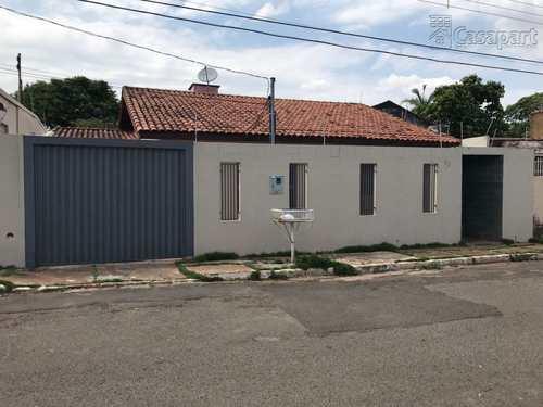 Casa, código 190 em Campo Grande, bairro Vila Alba