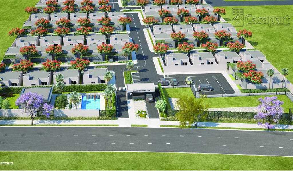 Casa de Condomínio em Campo Grande, bairro Jardim Tijuca