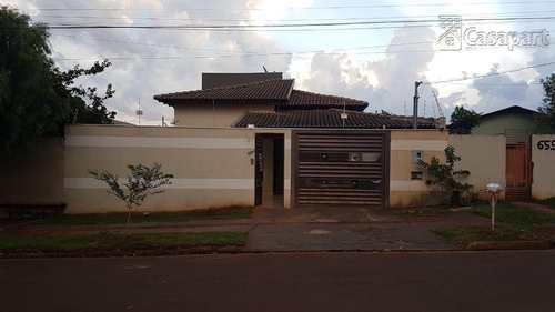 Casa, código 301 em Campo Grande, bairro Pioneiros