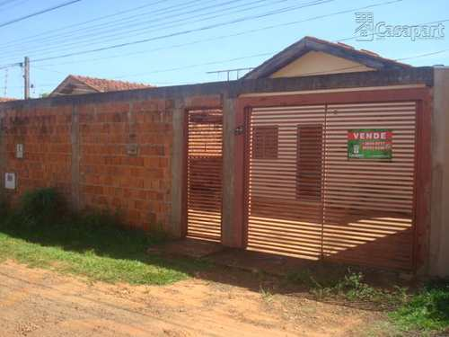 Casa de Condomínio, código 310 em Campo Grande, bairro Vila Vilas Boas