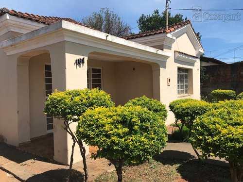 Casa, código 350 em Campo Grande, bairro Santo Antônio
