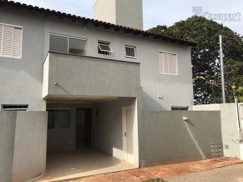 Sobrado de Condomínio, código 373 em Campo Grande, bairro Vila Vilas Boas