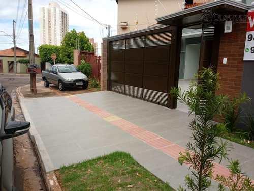 Casa, código 388 em Campo Grande, bairro Carandá Bosque