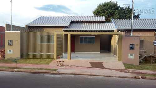 Casa, código 394 em Campo Grande, bairro Nova Lima