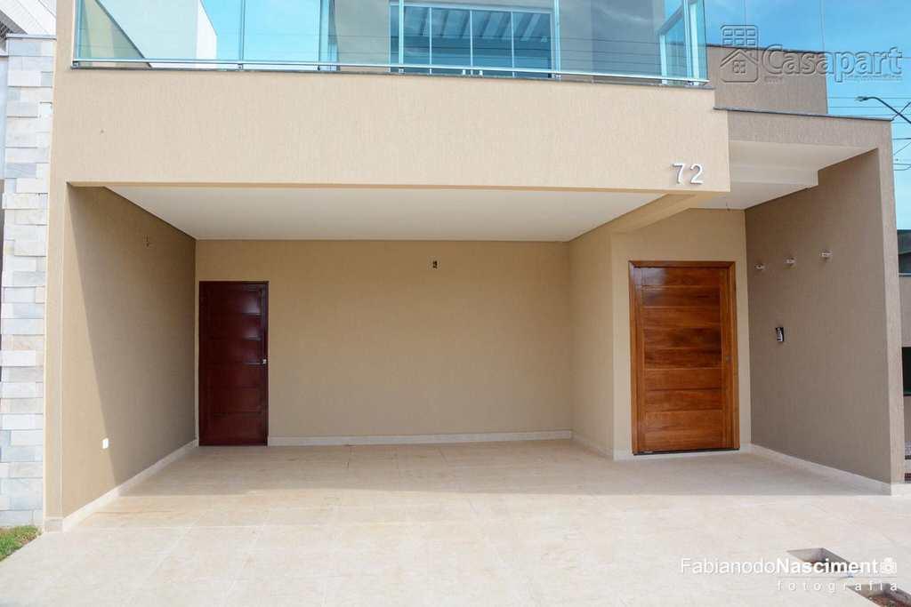 Sobrado de Condomínio em Campo Grande, bairro Residencial Damha II