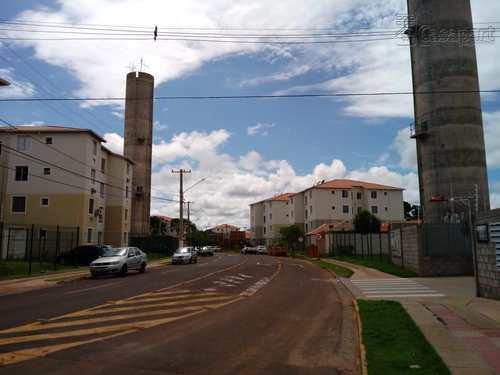 Apartamento, código 424 em Campo Grande, bairro Parque Residencial Rita Vieira