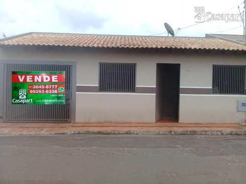 Casa, código 439 em Campo Grande, bairro Núcleo Habitacional Universitárias