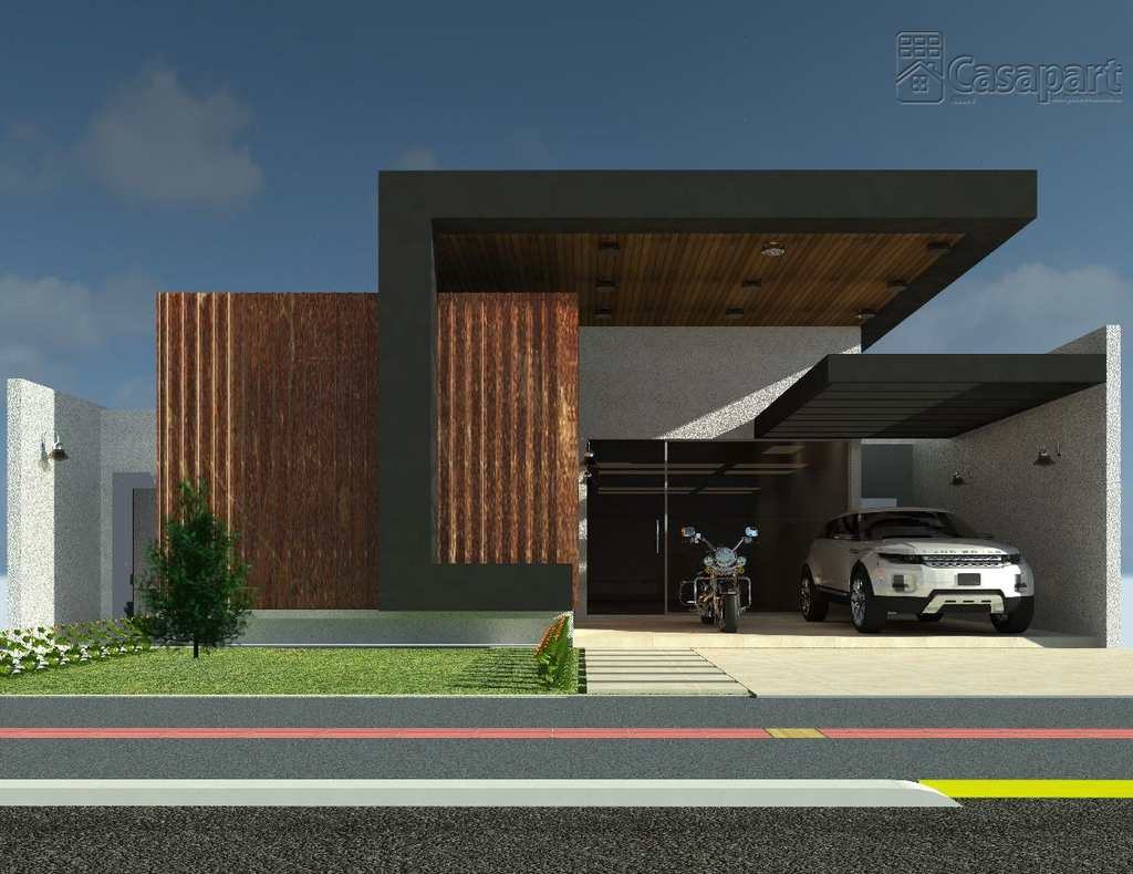 Casa de Condomínio em Campo Grande, no bairro Residencial Damha III