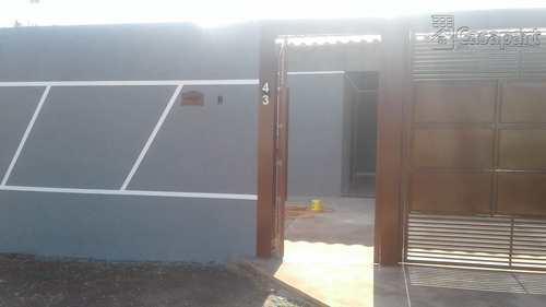 Casa, código 521 em Campo Grande, bairro Vila Santa Luzia