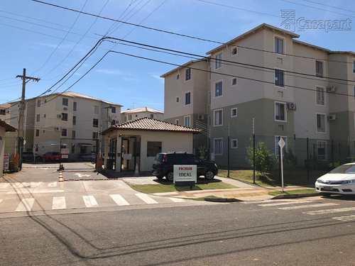 Apartamento, código 522 em Campo Grande, bairro Parque Residencial Rita Vieira
