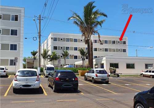 Apartamento, código 587 em Campo Grande, bairro Jardim das Nações