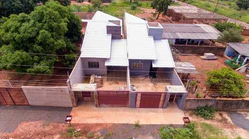 Casa, código 603 em Campo Grande, bairro Parque Residencial Rita Vieira