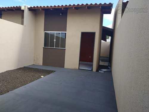 Casa, código 604 em Campo Grande, bairro Jardim Los Angeles