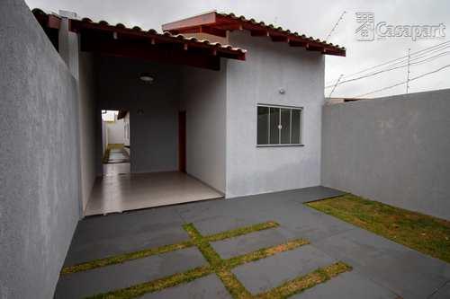Casa, código 619 em Campo Grande, bairro Bonjardim