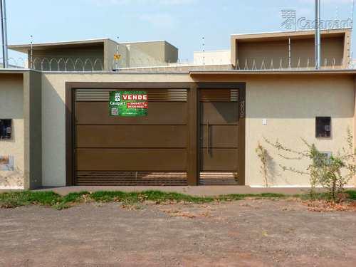 Casa, código 661 em Campo Grande, bairro Residencial Oliveira III