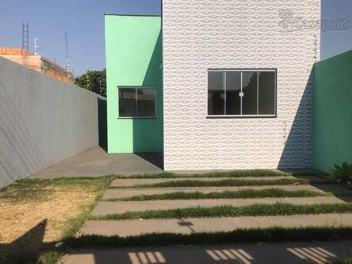 Casa, código 674 em Campo Grande, bairro Nova Lima