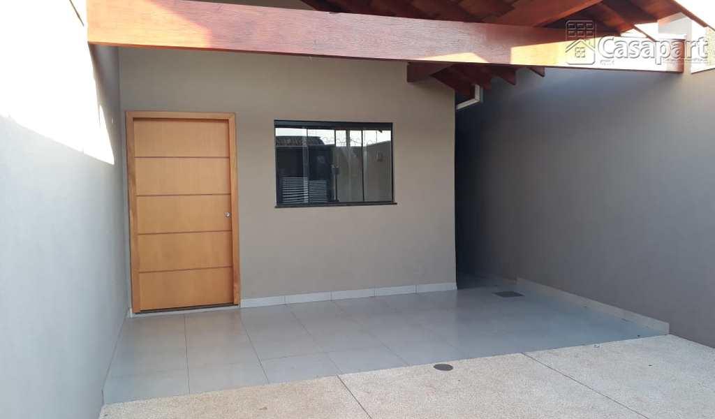 Casa em Campo Grande, bairro Parque Residencial Rita Vieira