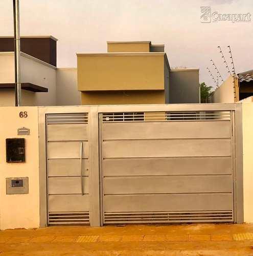Casa, código 742 em Campo Grande, bairro Vila Neusa
