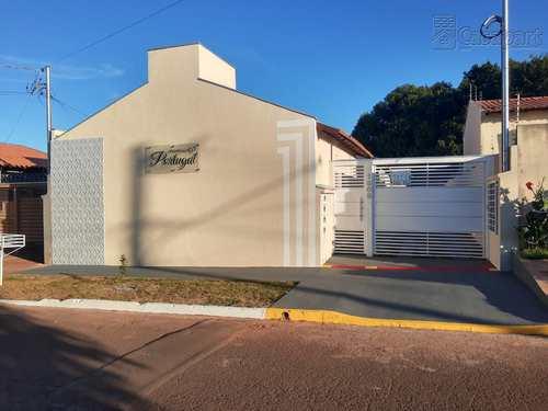Casa de Condomínio, código 802 em Campo Grande, bairro Jardim Colúmbia