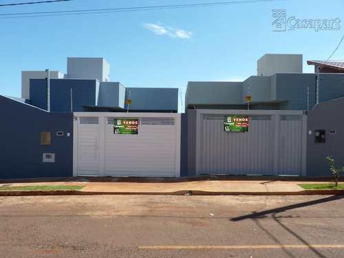 Casa, código 842 em Campo Grande, bairro Monte Castelo