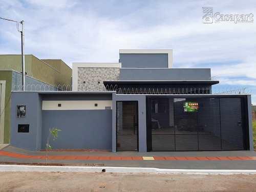 Casa, código 853 em Campo Grande, bairro Residencial Sírio Libanês I