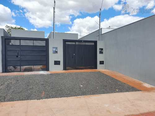 Casa, código 863 em Campo Grande, bairro Jardim das Cerejeiras